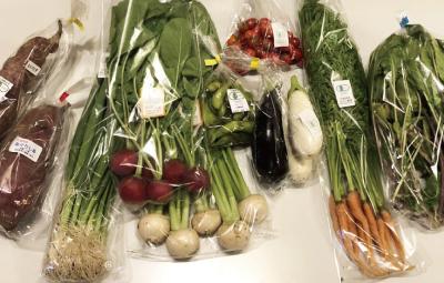 アグリカルチャーイベントイメージ 新鮮な有機野菜の数々