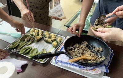 アグリカルチャーイベントイメージ 有機野菜を使用した料理教室2