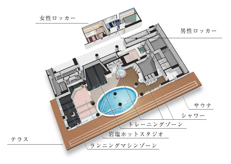 神戸メリケンパークオリエンタルホテル店パース